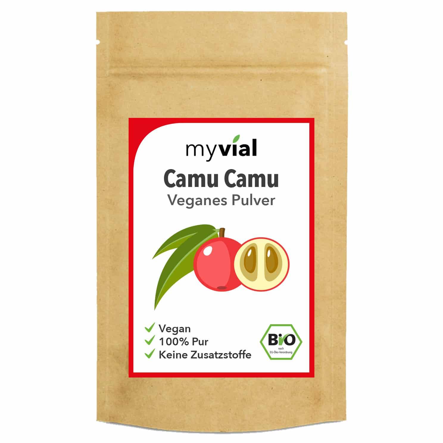 Camu Camu Pulver Bio 250g kaufen | MyVial